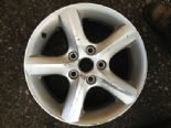 "2009 SUZUKI SWIFT GENUINE 5 SPOKE 16"" ALLOY WHEEL SILVER X1404X"